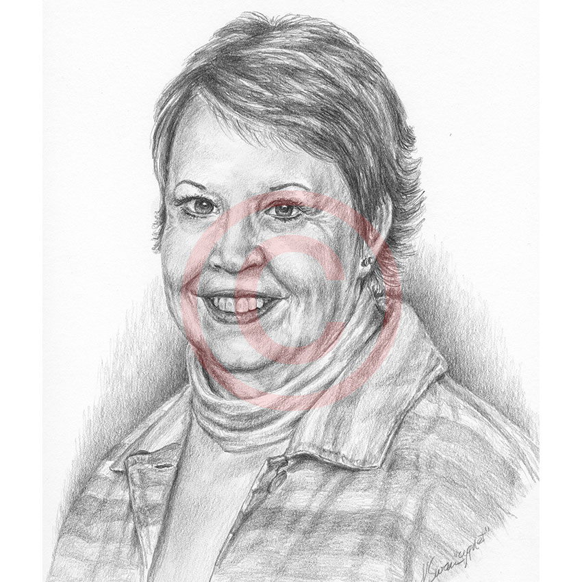 Custom Pencil Drawings and Portraits by Kelli Swan | Pet ...