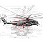 Blackhawk-helicopter-pencil-drawing